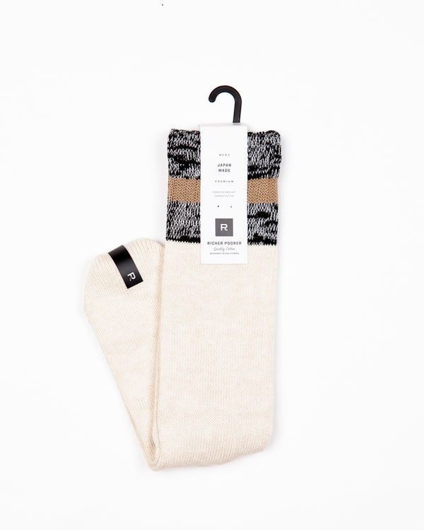 Richer Poorer - Abbot Sock Oatmeal