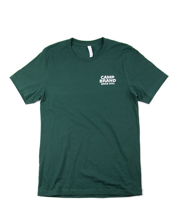 Camp Brand Goods - Road Trip T-Shirt // Forest