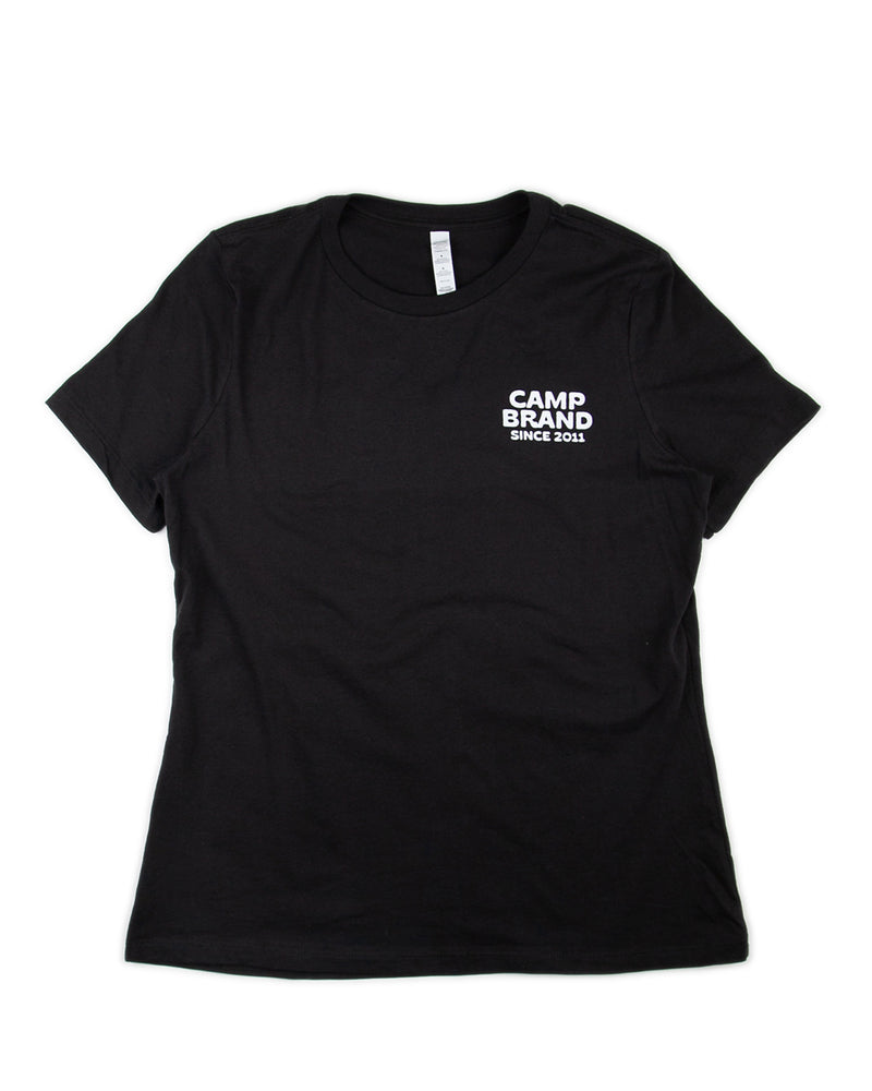 Camp Brand Goods - Road Trip Relaxed T-Shirt // Vintage Black