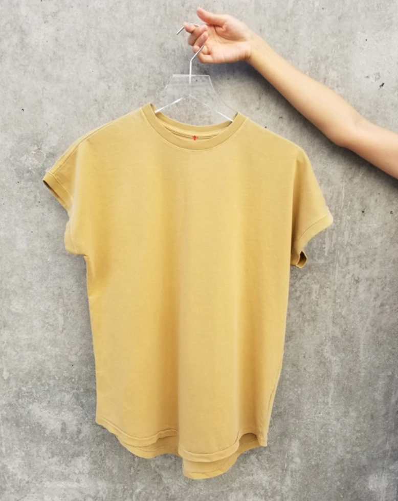 Le Bon Shoppe - Ease Tee  - Butterscotch