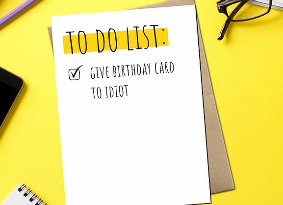 Dope Hause Co - Give Birthday Card To Idiot