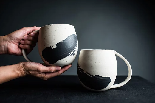 Quinspired Ceramics - 25oz Round Mug