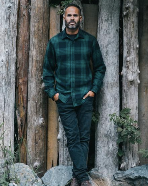 Anian - The Sunday Flannel - Green/Black