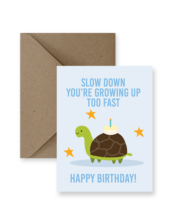 Impaper - Slow Down Turtle Birthday
