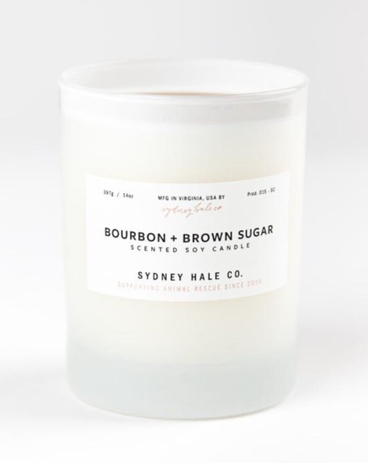 Sydney Hale - Bourbon + Brown Sugar Candle