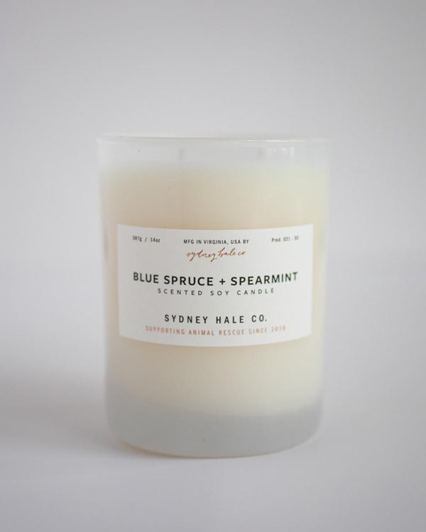 Sydney Hale - Blue Spruce + Spearmint Candle