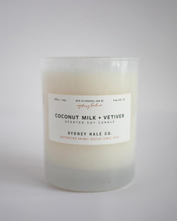 SYDNEY HALE - COCONUT MILK + VETIVER CANDLE