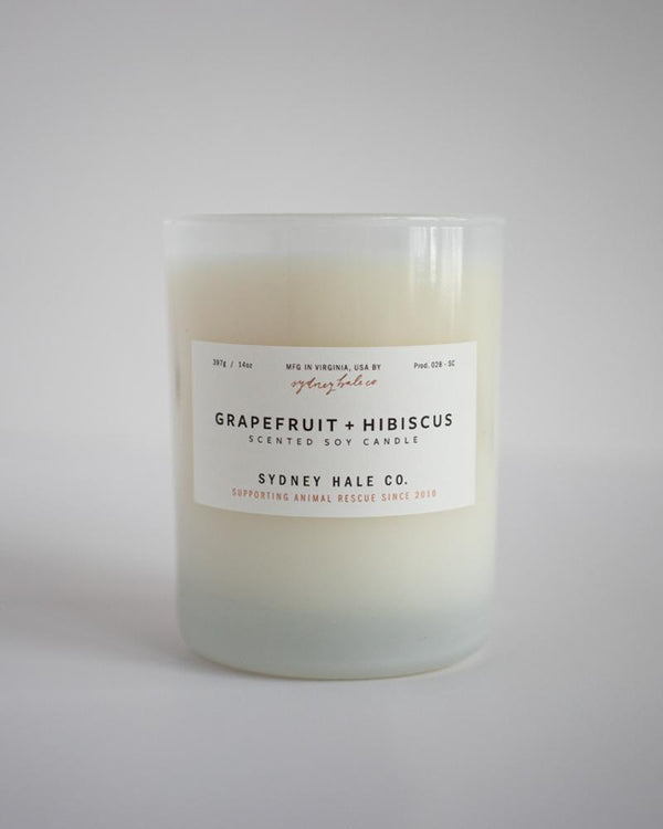 Sydney Hale - Grapefruit and Hibiscus Candle