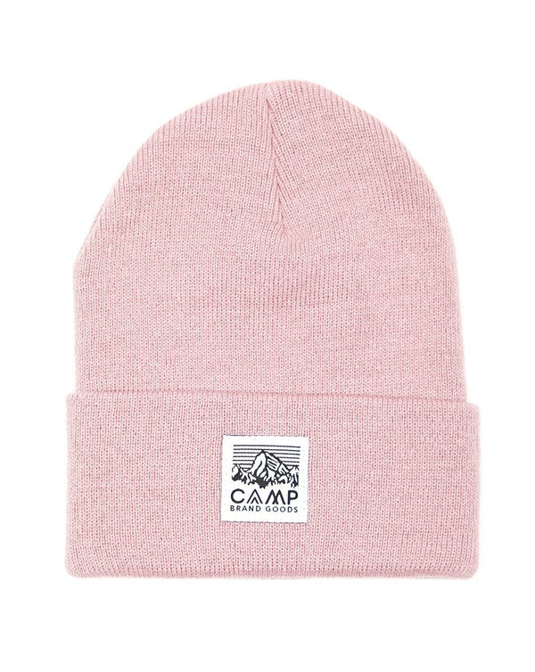 Camp Brand Goods - Heritage Logo Toque // Blush