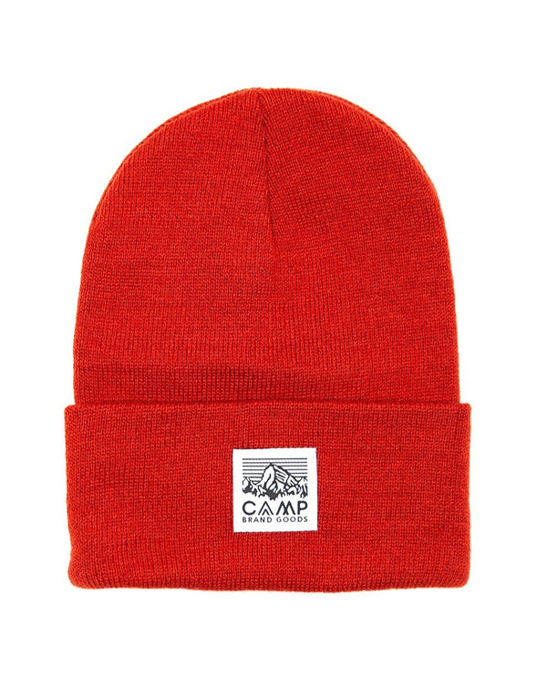 Camp Brand Goods - Heritage Logo Toque // Chili