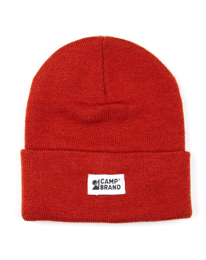Camp Brand Goods - Mountain Logo Toque // Chili