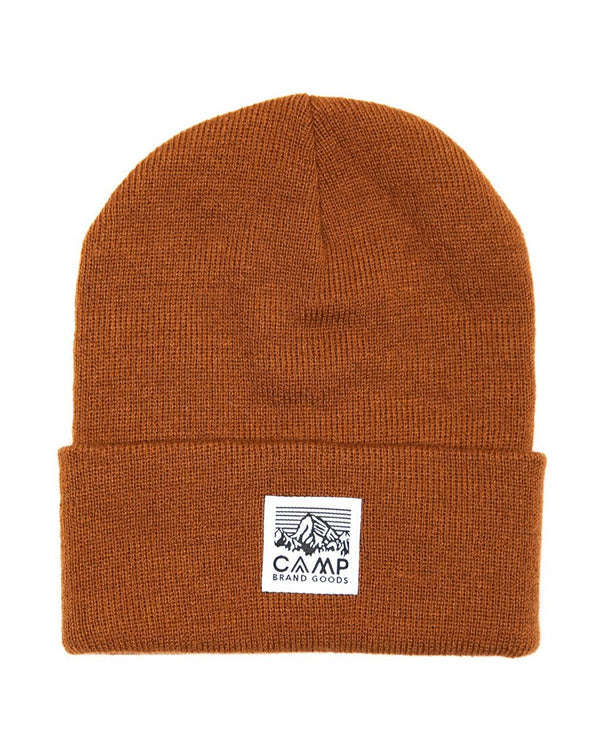 Camp Brand Goods - Heritage Logo Toque // Copper