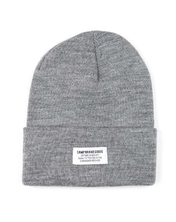Camp Brand Goods - Typeface Logo Toque // Grey