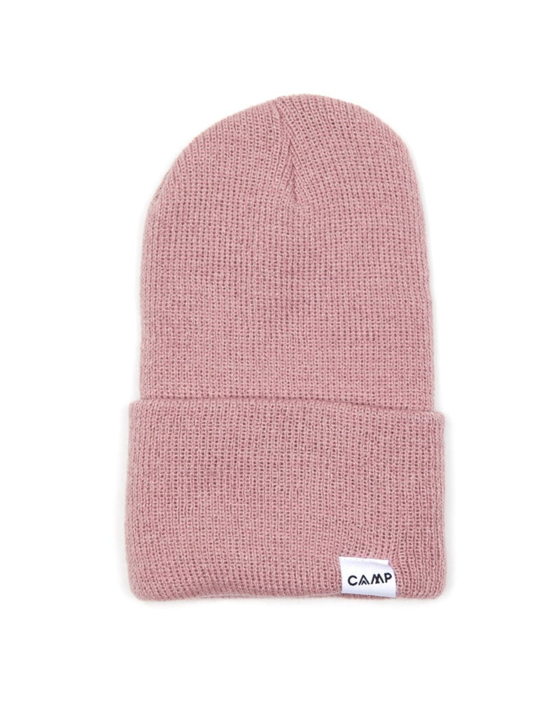 Camp Brand Goods - Kids Wordmark Logo Toque // Blush