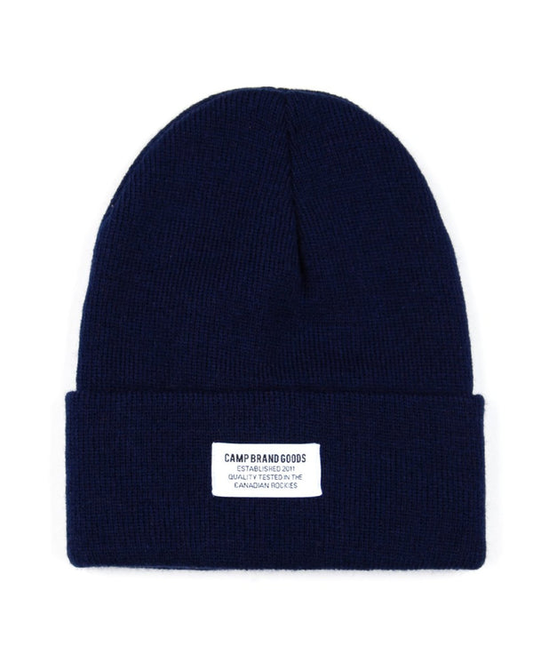 Camp Brand Goods - Typeface Logo Toque // Navy
