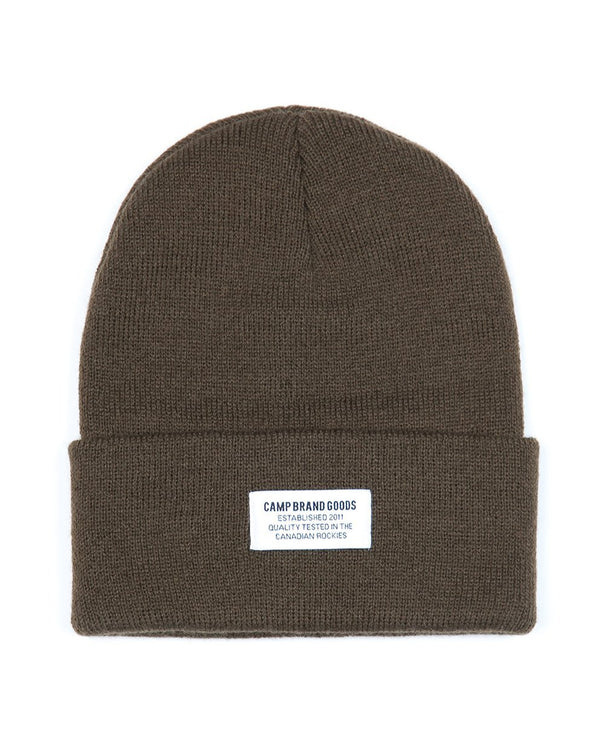 Camp Brand Goods - Typeface Toque // Olive