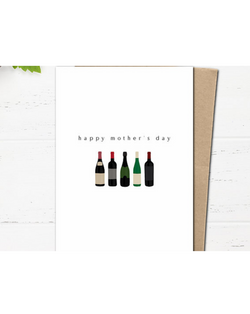 Dope Haus - Happy Mother's Day Wine Card