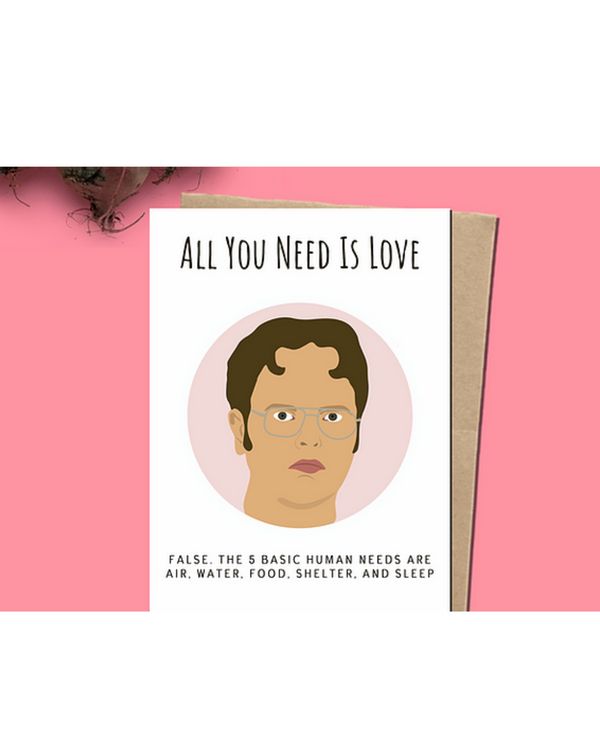 Dope Haus - All You Need Is Love Card