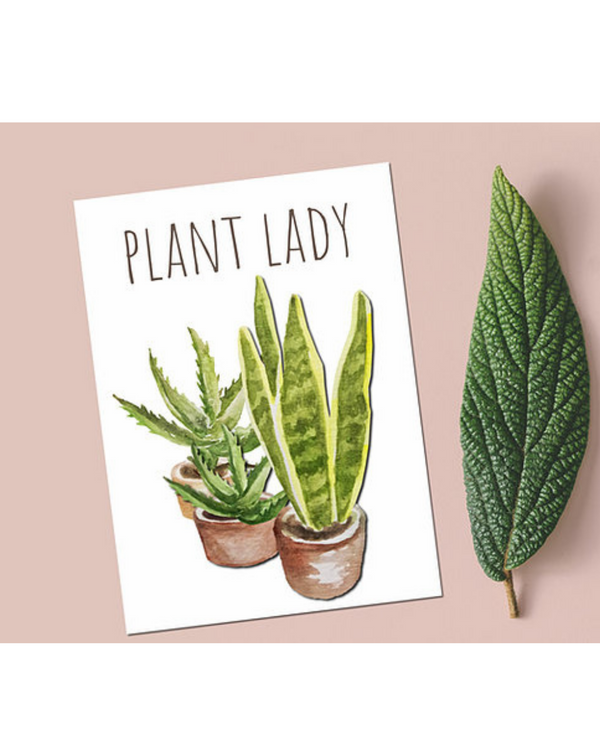 Dope Haus - Plant Lady Card