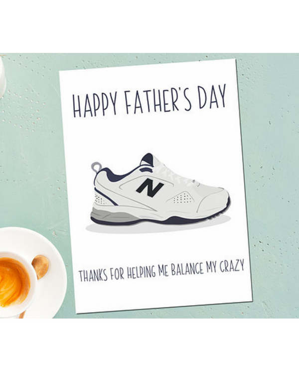 Dope Haus - New Balance Father's Day Card