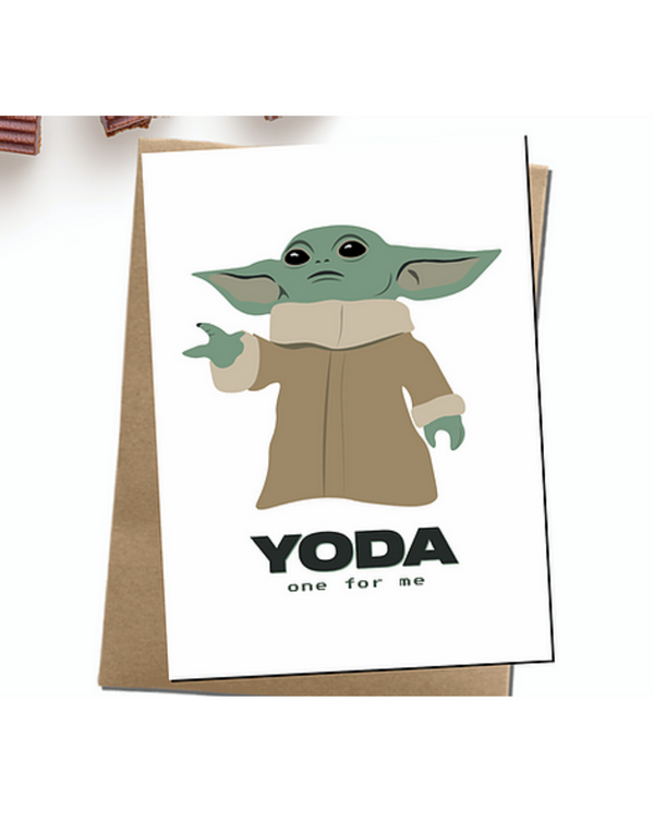 Dope Haus - Yoda One For Me Card