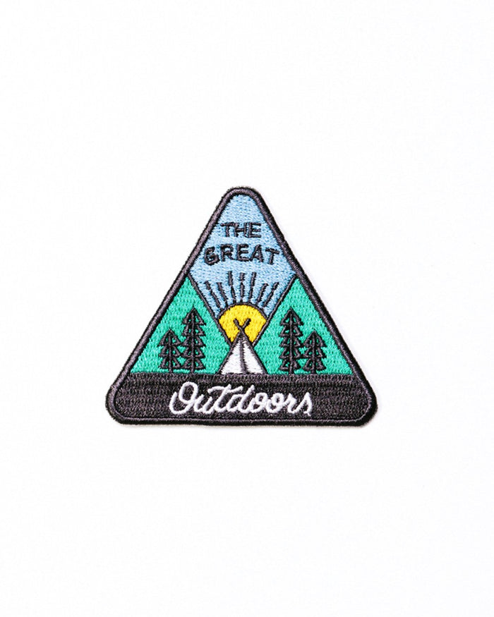 CAMP BRAND GOODS - TRIANGLE TENT PATCH