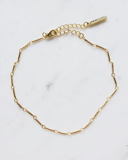 COUTUKITSCH - Bar Chain Anklet