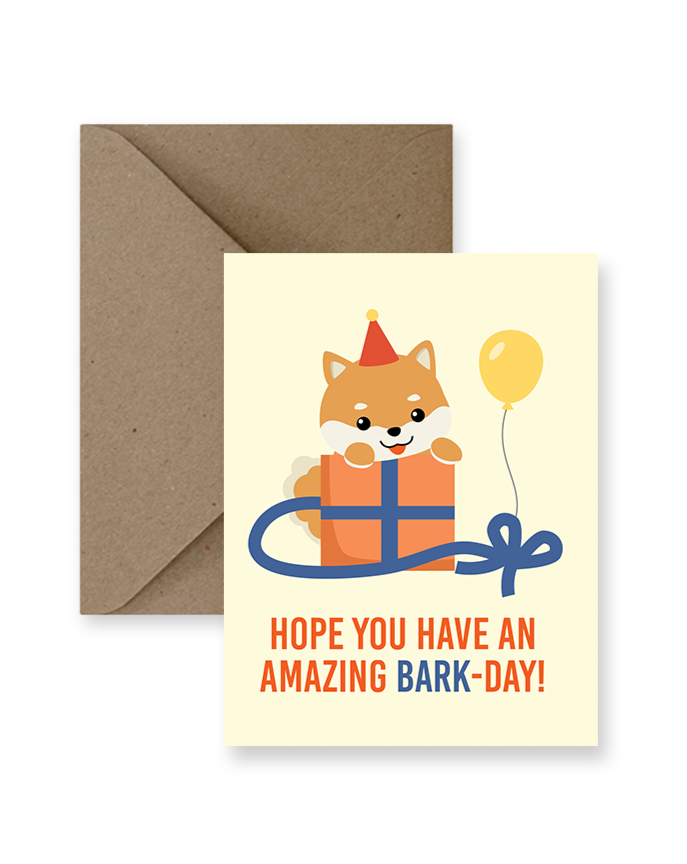 IMPAPER - BARK-DAY CARD