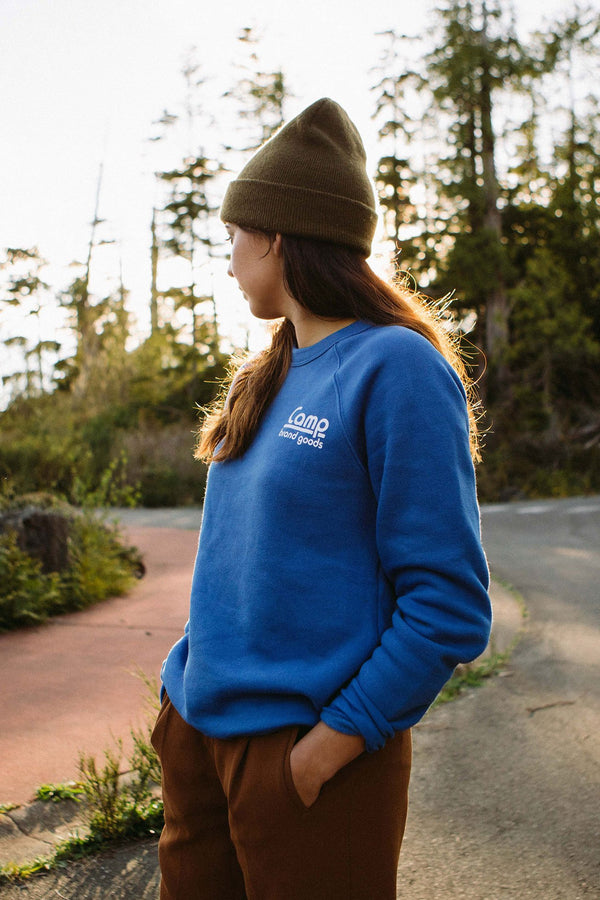 Camp Brand Goods - Bolerama Sweatshirt // True Royal