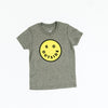 CAMP BRAND GOODS - KIDS GO OUTSIDE PLS T-SHIRT // TRI GREY