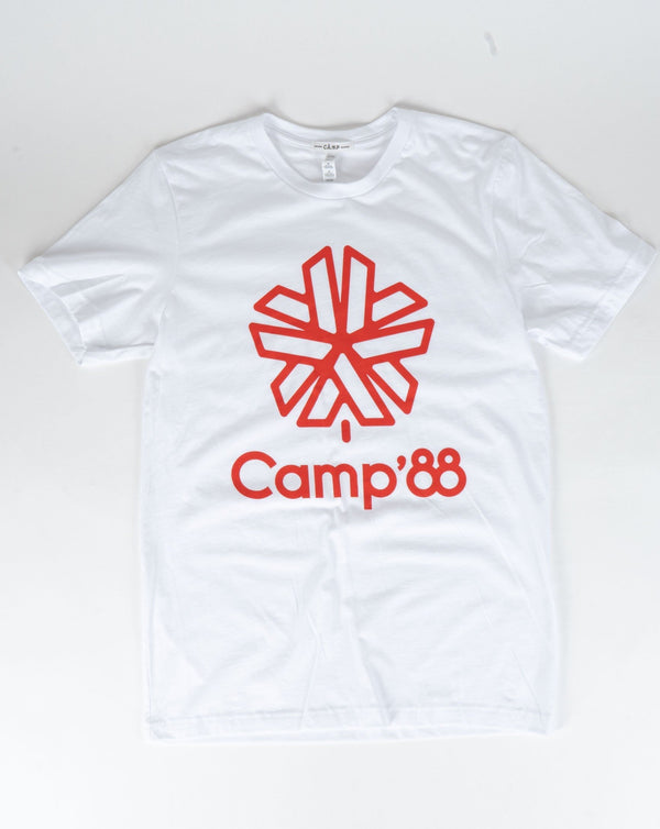 SALE - Camp Brand Goods - Camp'88 T-Shirt // White