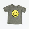 CAMP BRAND GOODS - BABY GO OUTSIDE PLS T-SHIRT // TRI GREY