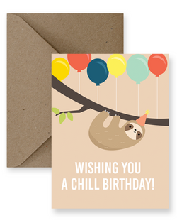 Impaper - Chill Birthday Sloth