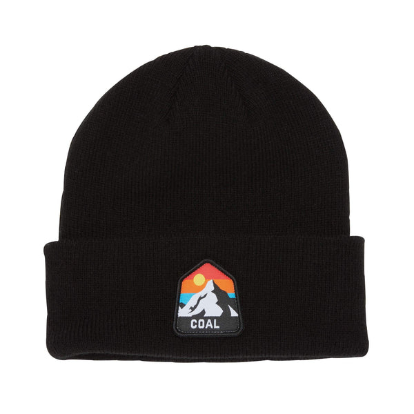 Coal - Peak Beanie - Black