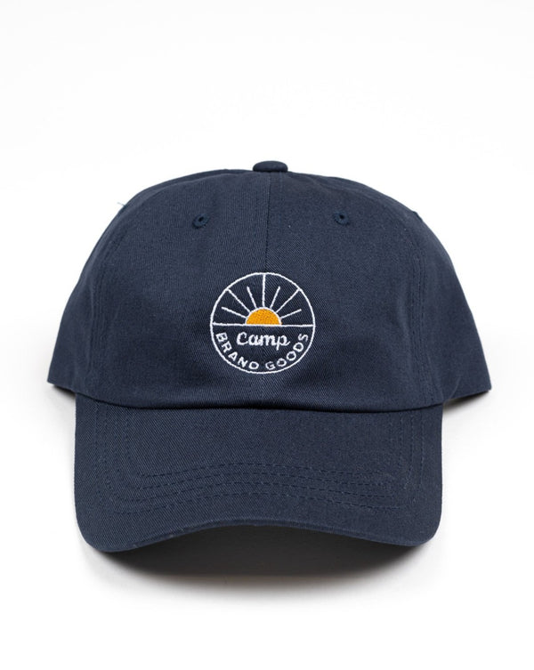 SALE - Camp Brand Goods - Sunrise Dad Cap // Blue