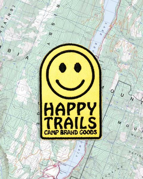 CAMP BRAND GOODS - HAPPY FACE PATCH