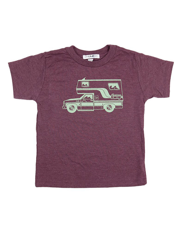 Camp Brand Goods - Toddler McNeilly T-Shirts // Maroon