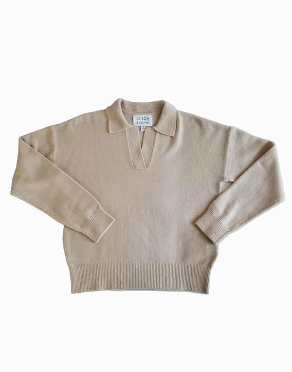 Le Bon Shoppe - Nanette Pullover Irish Cream