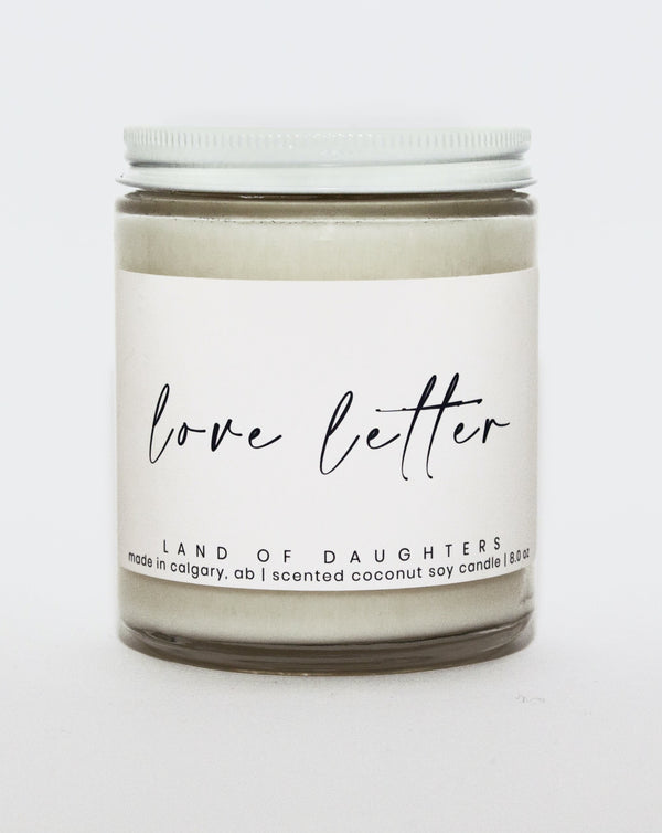 Land of Daughters - Love Letter Candle