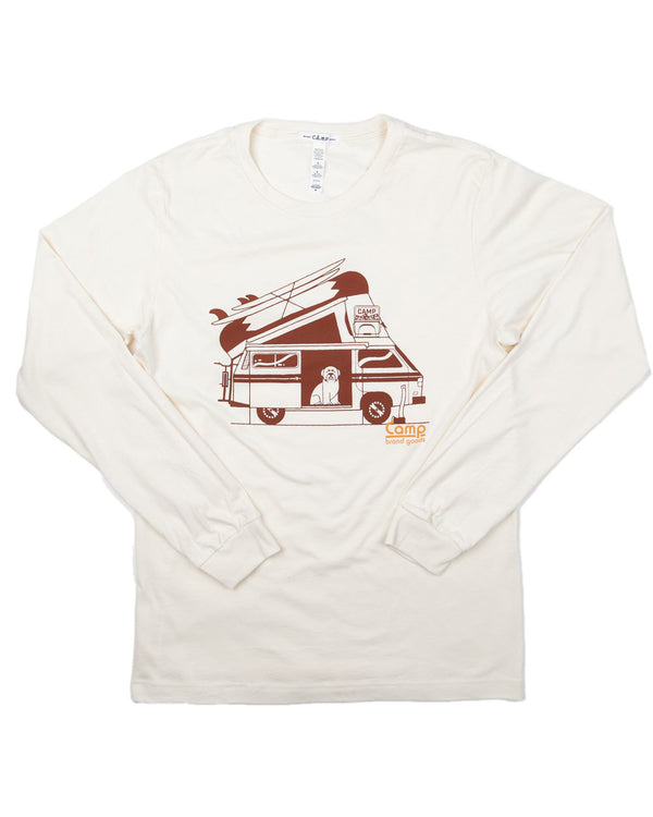 Camp Brand Goods - Otiefalia Long Sleeve // Natural