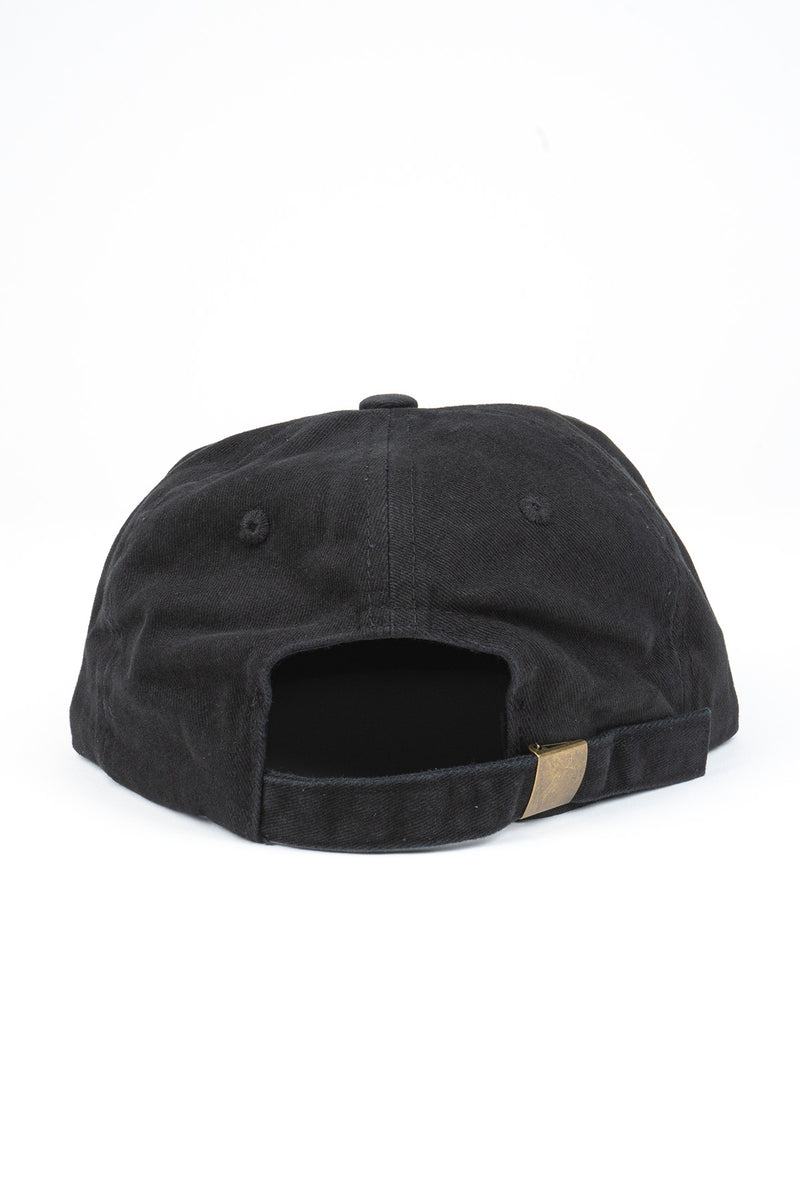 Camp Brand Goods - Outsiders Club Unstructured 6 Panel Cap // Black