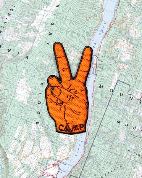 CAMP BRAND GOODS - PEACE SIGN PATCH