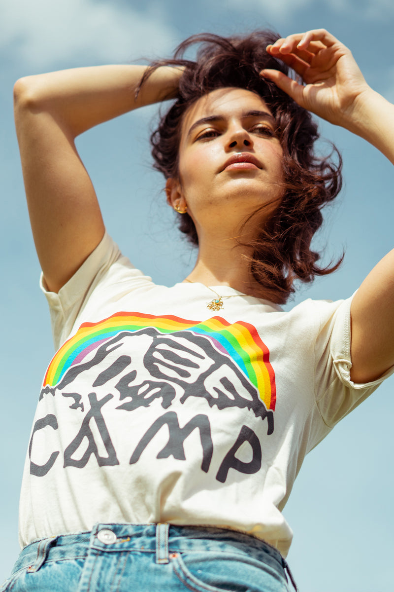 Camp Brand Goods - In It Together T-shirt // Natural