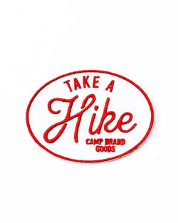 Camp Brand Goods - Take A Hike Patch