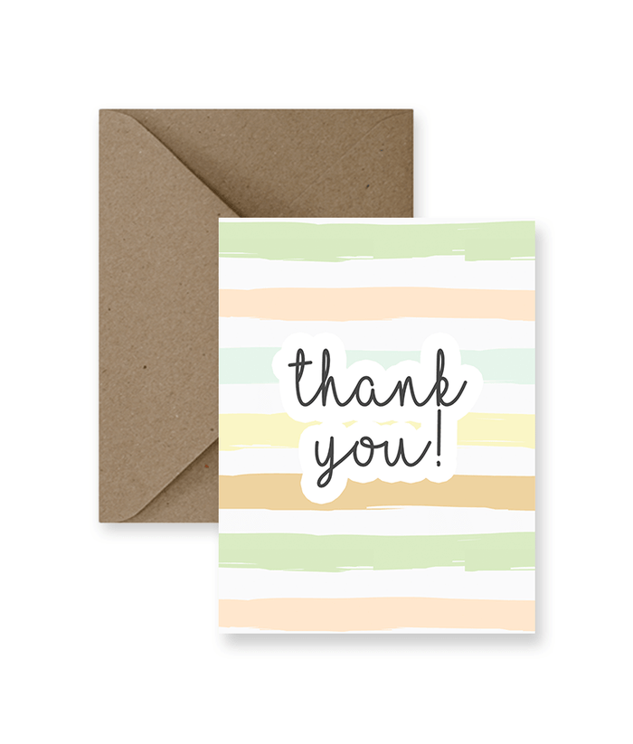 IMPAPER - THANK YOU CARD