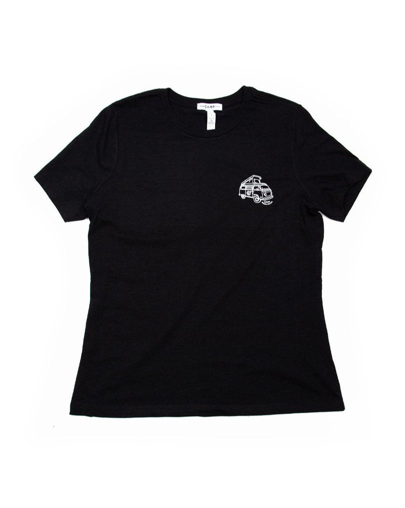 Camp Brand Goods - Westy Relaxed T-Shirt // Black Heather