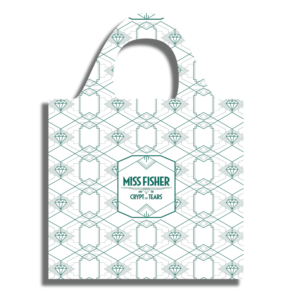 Miss Fisher and the Crypt of Tears ECO shopping bag