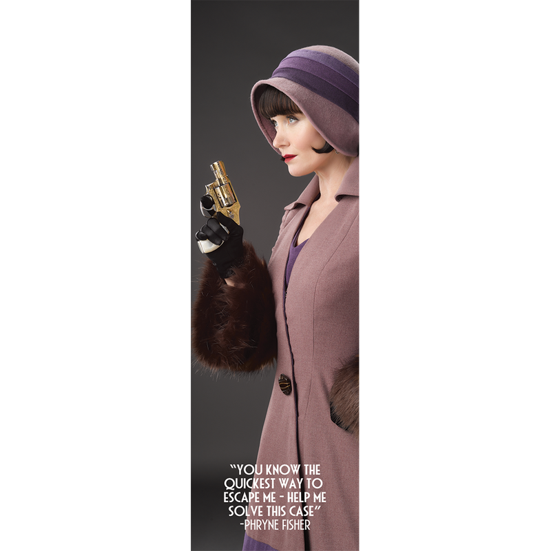 Miss Fisher and the Crypt of Tears 'The Gun' Bookmark