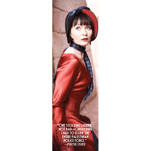 Miss Fisher and the Crypt of Tears 'Red Dress' Bookmark