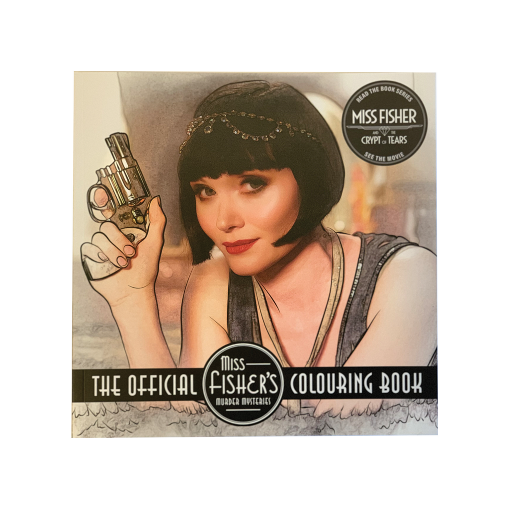 Official Miss Fisher's Murder Mysteries Colouring Book
